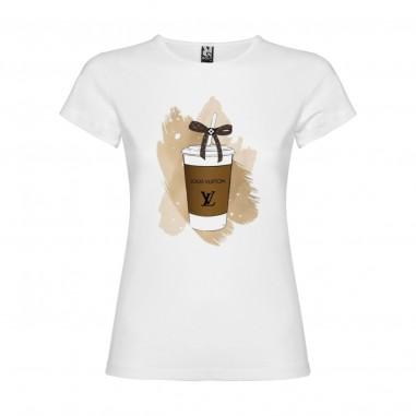 Дамска тениска -  coffee