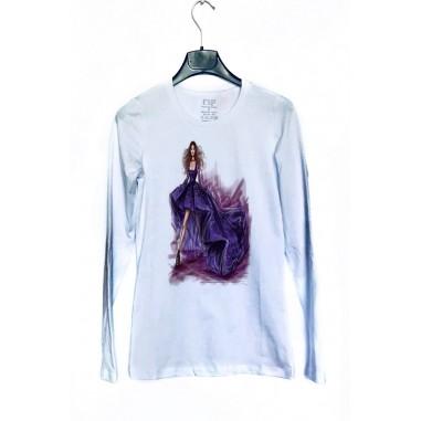 Дамска блуза с щампа