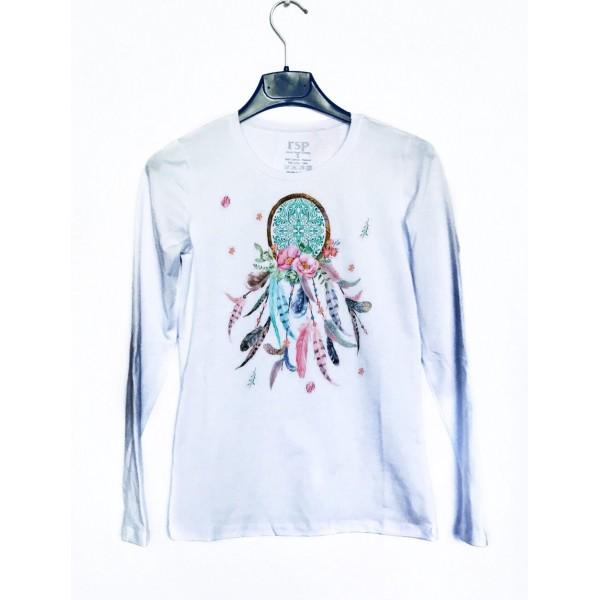 Дамска блуза с щампа - Капан за сънища от категория Дамски блузи