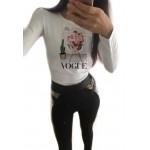 Дамска блуза с щампа - Vogue от категория Дамски блузи