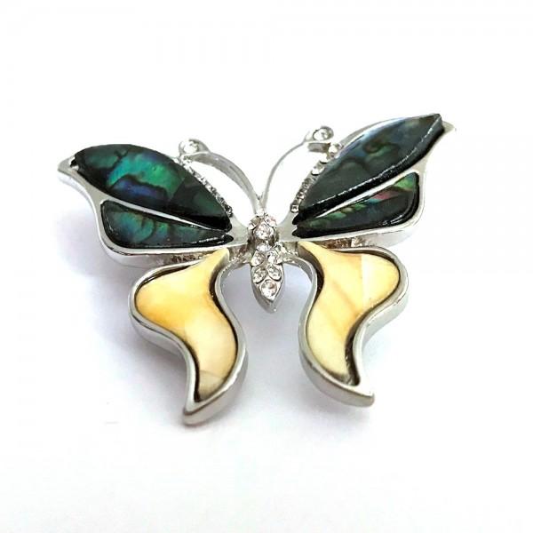 Дамска брошка - пеперуда от категория БРОШКИ